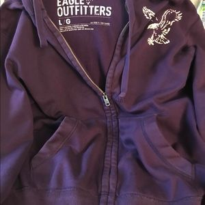 Men's Purple American Eagles outfitters